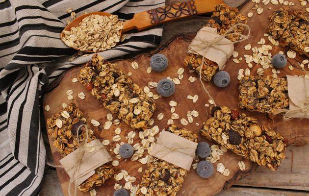 Barres de céréales aux flocons d'avoine