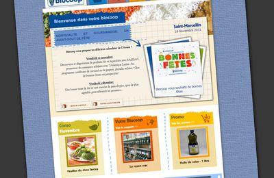 Biocoop Saint-Marcellin (Chatte) le site est en ligne !!!