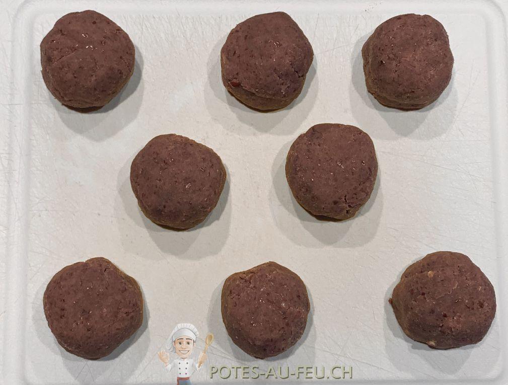 Daifuku Mochi (Mochi à la pâte de Haricots rouges)