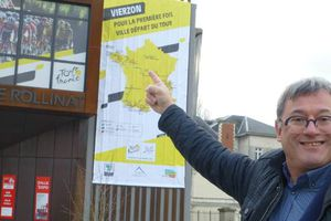 Vierzon affiche les couleurs du Tour de France .... + Tweets by LeTour ...