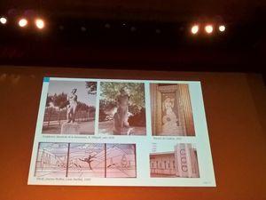 """"""" Sport et architecture """" par Hélène Caroux"""