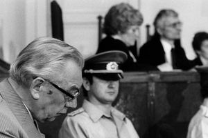 "Mort du criminel nazi Heinz Barth, ""l'assassin d'Oradour"""