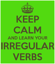 ahhh.. les verbes irréguliers!
