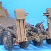 Pacific M25 porte char tank transporter