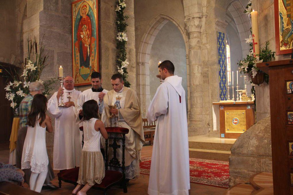 Les paroissiens de  Villars ont un très grand respect de la sainte Eucharistie
