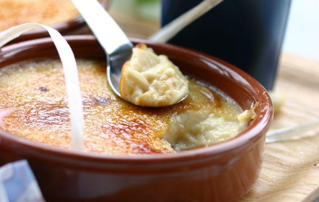 Recette n°161 : Crème brûlée légère au lait d'amandes