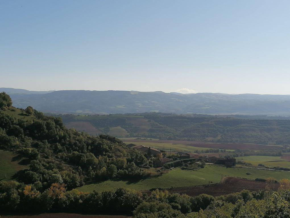 Autour du château de Montaigut
