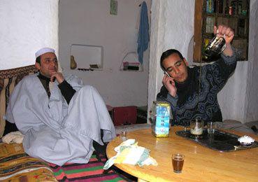 Au Sahara – image de mondialisation.