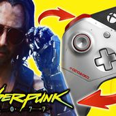 Xbox One X Cyberpunk 2077 : une nouvelle vidéo dédiée à la manette Johnny Silverhand (Keanu Reeves)