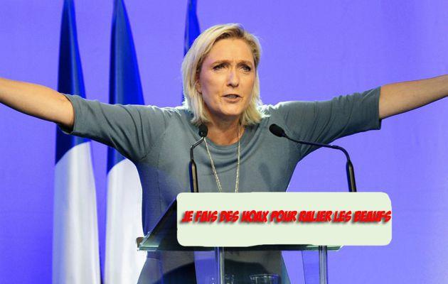 L'intox de Marine LePen sur le traité d'Aix-la-Chapelle qui «affaiblit la France»