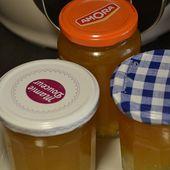 Confiture pommes orange recette cookeo |