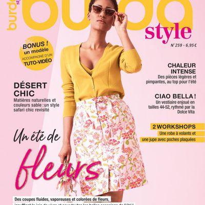 Magazines de juillet 2021: Burda