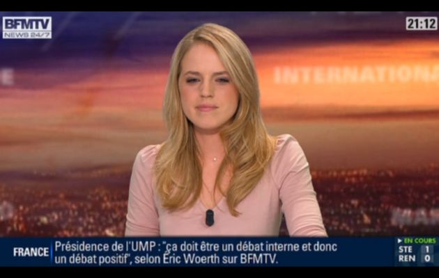 [2012 10 26] CLAIRE ARNOUX - BFM TV - WEEK-END 360 @21H00