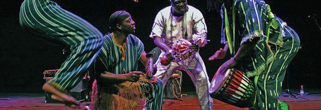 29 & 30/11/14 - Stages de danse africaine avec Amédé Nwatchok