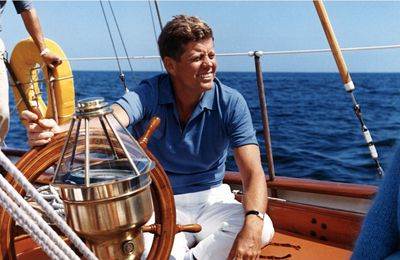 Yachting - the boats of John Fitzgerald Kennedy, president, sailor and skipper!
