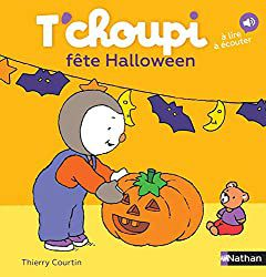T'choupi fête Halloween   cover couverture