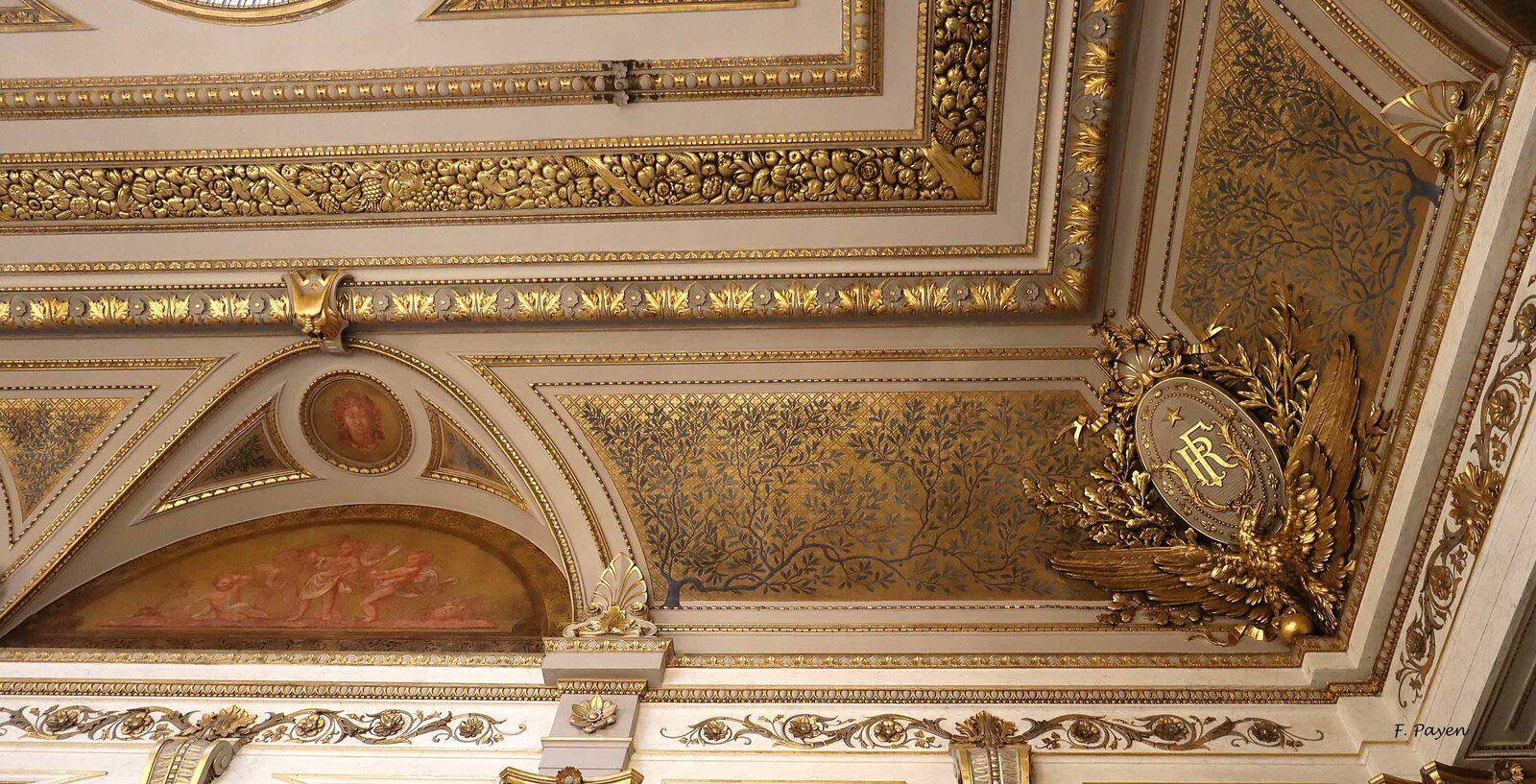 Palais de l'Elysée, salon Napoléon III.