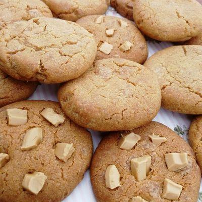 Cookies gourmands au spéculoos et chocolat dulcey