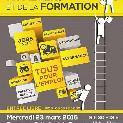 Forum de l'Emploi, des Métiers et de la Formation 2016
