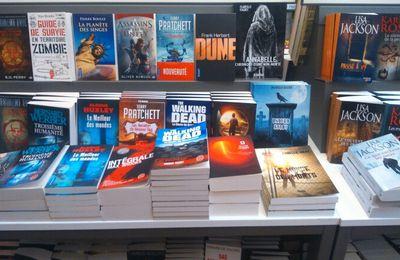 Mes livres chez Cultura Metz
