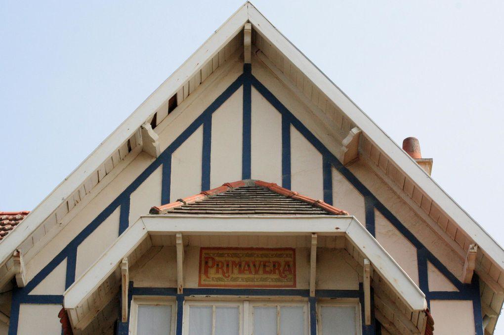 """Présentation en images de quelques détails architecturaux du style """"balnéaire"""" de Pornichet"""