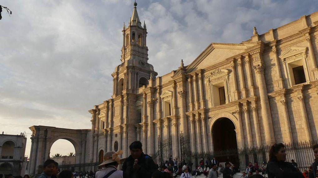 Arequipa, la ville blanche.