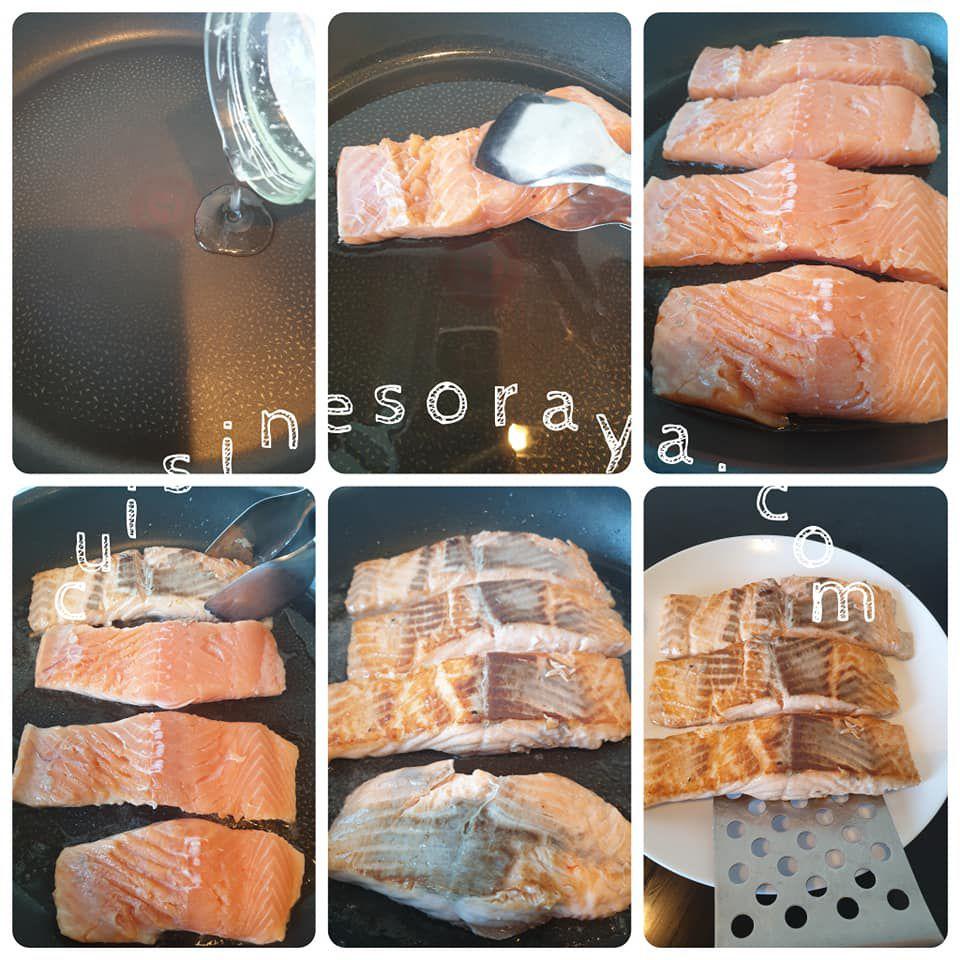 Pavé de saumon thaï au lait de coco