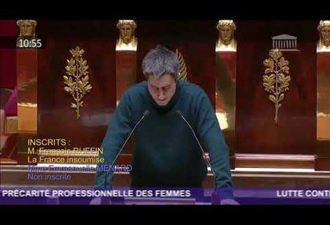 Mr Le Député Ruffin - Tout mon respect.