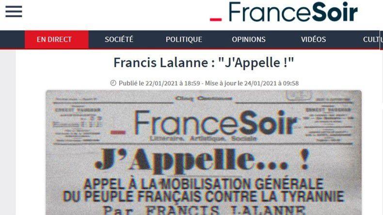 #TouchePasAMonFranceSoir:  Roselyne Bachelot veut faire «réexaminer» le certificat presse de FranceSoir