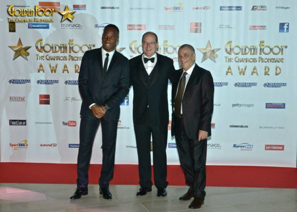 GOLDEN FOOT AWARD MONACO 2014