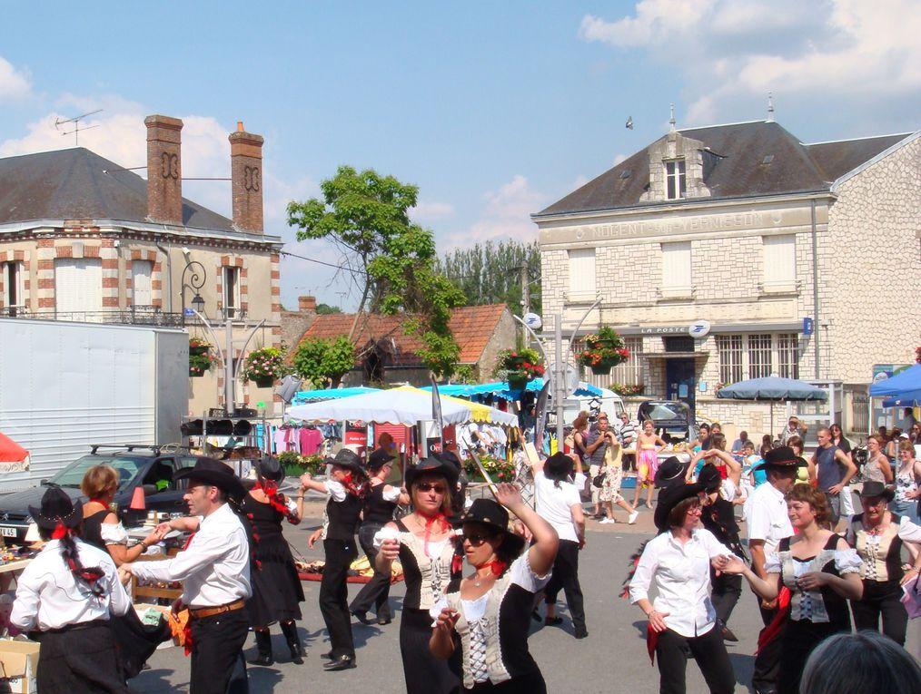 Belle journée de démo pendant la fête de la St Jean le 27 juin à Nogent sur Vernisson En bonus quelques photos de la danse au loing (et super bonus les enfants du Photographe)