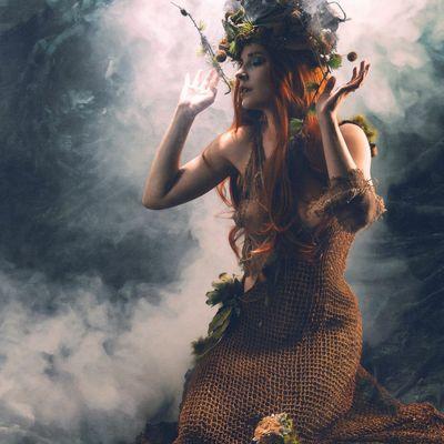La sorcière verte bien aimée