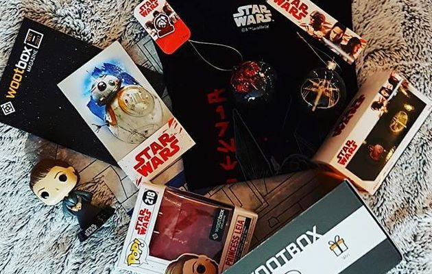 Unboxing WootBox 100% Star Wars !