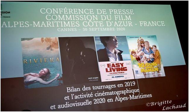 COMMISSION DU FILM CÔTE D'AZUR – BILAN DES TOURNAGES EN MAIRIE DE CANNES