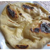 Naans indiens au fromage - Cheese naans - www.sucreetepices.com
