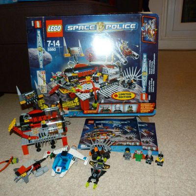 lego space police - l'atelier