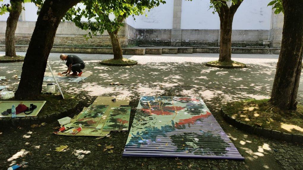 Les workshops de la 10ème Biennale de Sarria