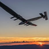 "SOLAR IMPULSE on Twitter: ""WE MADE IT! #Si2 reached its first critical morning energy neutral point! #futureisclean  """