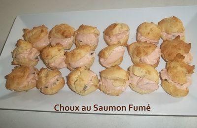 Un Tour en Cuisine #269 - Petits Choux au Saumon Fumé