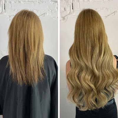 Application Methods of Great Lengths Hair Extensions