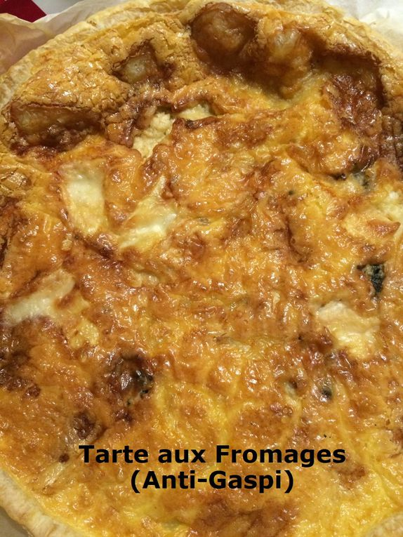 Tarte aux Fromages (Anti-Gaspi)