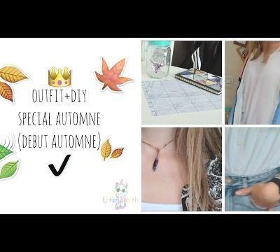 Video n°4, outfit+DIY special automne (début automne)