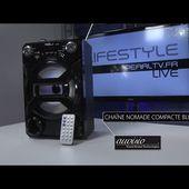 CHAINE NOMADE COMPACTE BLUETOOTH - SD - USB - radio - [PEARLTV.FR]