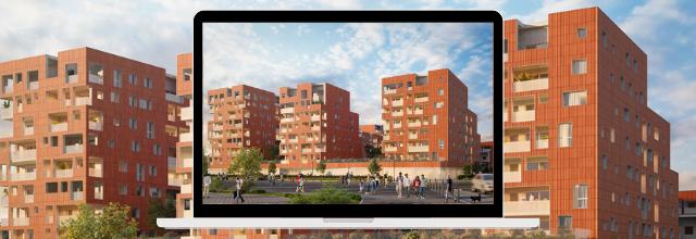 Logements sociaux à la Cartoucherie (Toulouse) pour Patrimoine