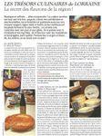 Trésors culinaires de notre bien-aimée Lorraine (1)