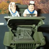 JEEP WILLYS LAUREL ET HARDY GATE 1/32 - car-collector.net