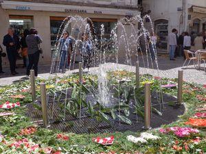 fontaine dédiée à Santa Clara (cliquez sur les photos pour les voir en grand)