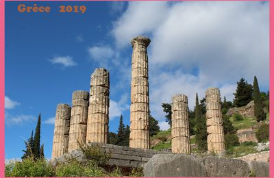 Grèce 2019. Delphes. Diakopto.