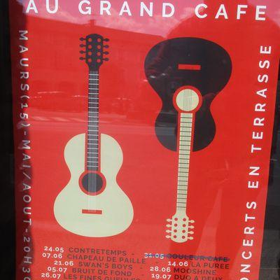 Les nocturnes au Grand Café à Maurs
