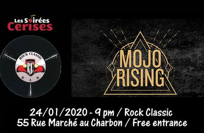 🎵 Mojo Rising (ex-This is Marylyn) @ Rock Classic - 24/01/2020 - 21h00 - Entrée gratuite / Free entrance